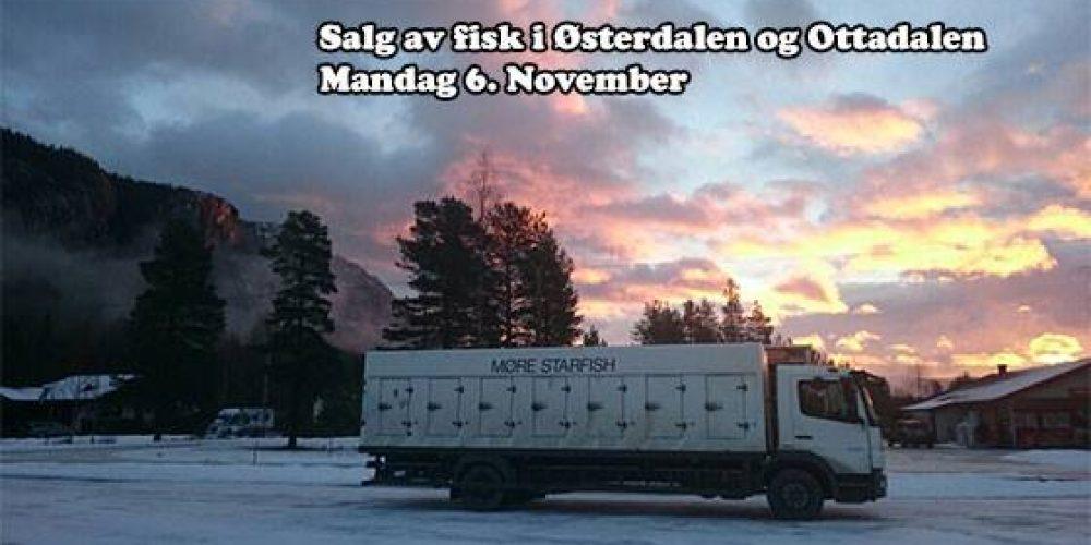 Julesalg av fisk i Østerdalen og Ottadalen. Siste …