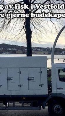 Fiskebilen vår kjem til Telemark og Vestfold. Vi …